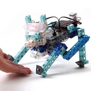 la fabrication d'un robot chien